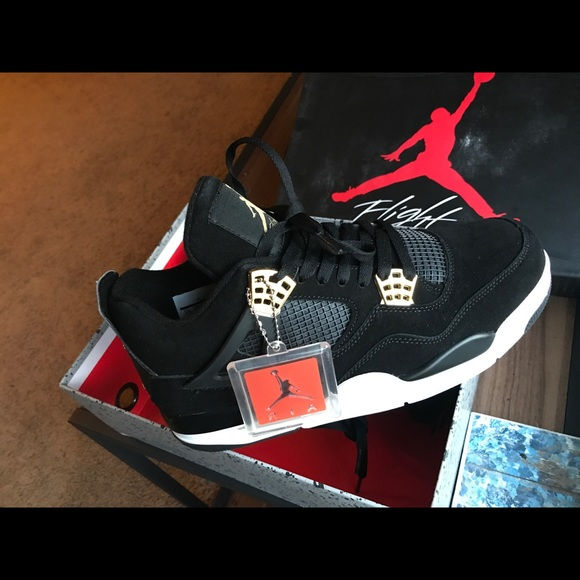 Brand new men s jordan retro 4 royalty 77c822767